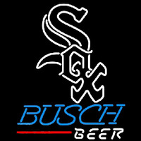 Busch Beer Chicago White Sox Beer Sign Neon Sign