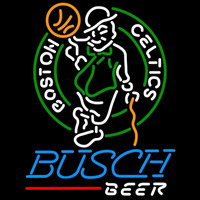 Busch Boston Celtics NBA Beer Sign Neon Sign
