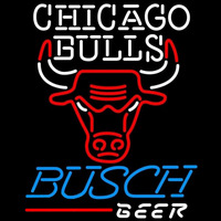 Busch Chicago Bulls NBA Beer Sign Neon Sign
