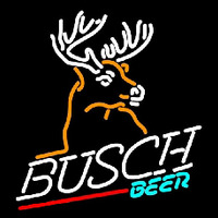 Busch Deer Beer Sign Neon Sign