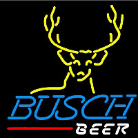 Busch Deer Buck Beer Sign Neon Sign