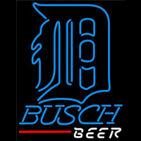 Busch Detroit Tigers MLB Beer Sign Neon Sign