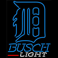 Busch Light Detroit Tigers MLB Beer Sign Neon Sign