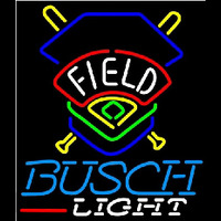 Busch Light Field Colorado Rockies Beer Sign Neon Sign