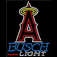 Busch Light Los Angeles Angels of Anaheim MLB Beer Sign Neon Sign
