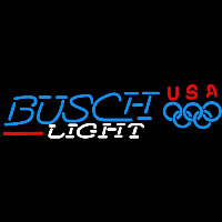 Busch Light Olympic Beer Sign Neon Sign