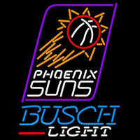 Busch Light Phoenix Suns NBA Beer Sign Neon Sign