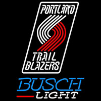 Busch Light Portland Trail Blazers NBA Beer Sign Neon Sign