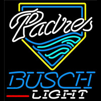 Busch Light San Diego Padres MLB Beer Sign Neon Sign