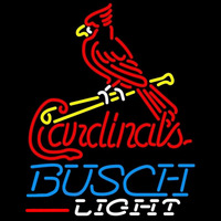 Busch Light St Louis Cardinals MLB Beer Sign Neon Sign