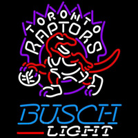 Busch Light Toronto Raptors NBA Beer Sign Neon Sign