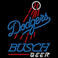 Busch Los Angeles Dodgers MLB Beer Sign Neon Sign