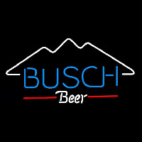 Busch Mountain Beer Sign Neon Sign