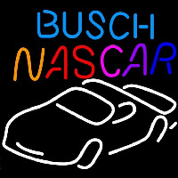 Busch Nascar Beer Sign Neon Sign