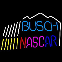 Busch Nascar mountain Beer Sign Neon Sign