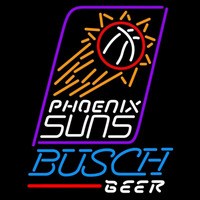 Busch Phoenix Suns NBA Beer Sign Neon Sign