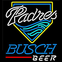 Busch San Diego Padres MLB Beer Sign Neon Sign