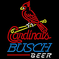 Busch St Louis Cardinals MLB Beer Sign Neon Sign