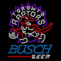 Busch Toronto Raptors NBA Beer Sign Neon Sign