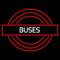 Buses Roundel Logo Neon Sign