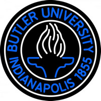 Butler University Neon Sign Neon Sign