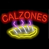 CALZONES FOOD Neon Sign