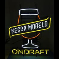 CERVEZA NEGRA MODELO ON DRAFT Neon Sign