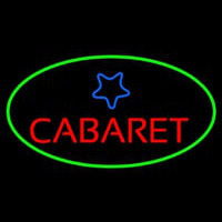 Cabaret Star Logo Neon Sign