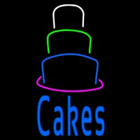 Cake With Cake Layer Neon Sign