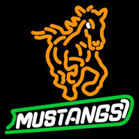 Cal Poly Mustangs Alternate 1999 Pres Logo NCAA Neon Sign Neon Sign