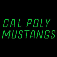 Cal Poly Mustangs Wordmark 1999 Pres Logo NCAA Neon Sign Neon Sign