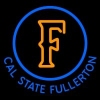 Cal State Fullerton Titans Alternate Pres NCAA Neon Sign Neon Sign
