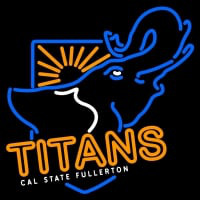 Cal State Fullerton Titans Neon Sign Neon Sign