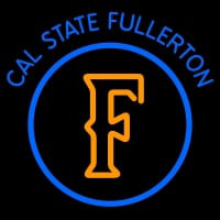Cal State Fullerton Titans Primary Logo NCAA Neon Sign Neon Sign