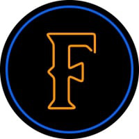 Cal State Fullerton Titans Primary Pres Logo NCAA Neon Sign Neon Sign
