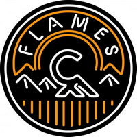 Calgary Flames Alternate 2013 14 Pres 1 Logo NHL Neon Sign Neon Sign