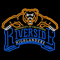 California Riverside Highlanders Primary 2003 2011 Logo NCAA Neon Sign Neon Sign