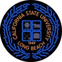 California State University Long Beach Neon Sign Neon Sign