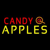 Candy Apples Apple Neon Sign