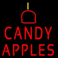 Candy Apples Neon Sign