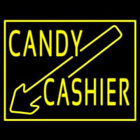 Candy Cashier Neon Sign