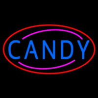 Candy Neon Sign