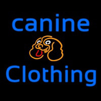 Canine Clothing Neon Sign