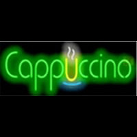 Cappuccino Cafe Neon Sign