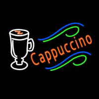Cappuccino Cup Neon Sign