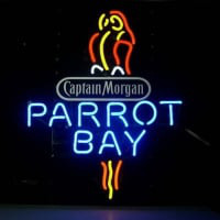 Captain Morgan Parrot Bay Spiced Rum Neon Sign