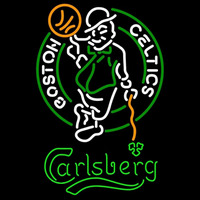 Carlsberg Boston Celtics NBA Beer Sign Neon Sign