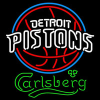 Carlsberg Detroit Pistons NBA Beer Sign Neon Sign