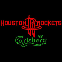 Carlsberg Houston Rockets NBA Beer Sign Neon Sign