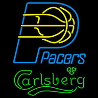 Carlsberg Indiana Pacers NBA Beer Sign Neon Sign